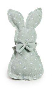 Porta guardanapo coelho poá azul