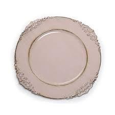 Sousplat provençal rosa seco