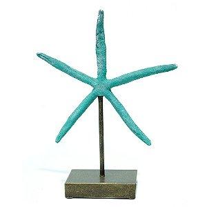 Escultura estrela do mar P