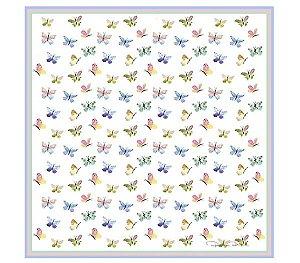 Guardanapo de borboletas coloridas