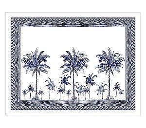 Jogo americano em linhão dublado palmeiras azuis
