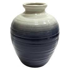 Vaso em cerâmica duo color G