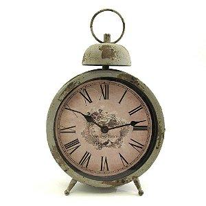 Relógio em metal grey