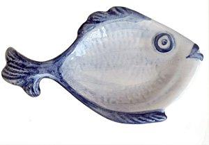 Peixe com rabo em cerâmica M