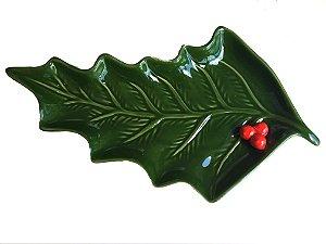 Petisqueira em cerâmica azevinho