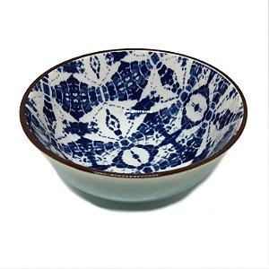 Bowl estampado azul 1