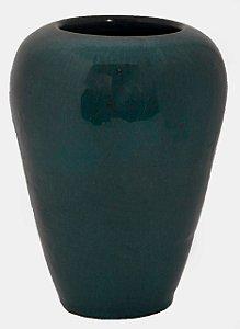 Vaso em cerâmica azul celeste