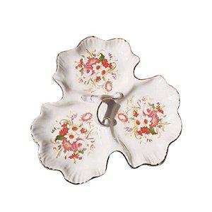 Petisqueira floral vintage