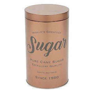 Pote para açúcar cobre