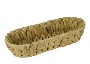 Cesta para pães oval em vime P