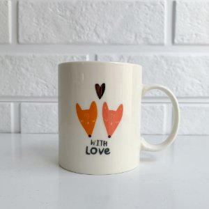 Caneca fox with love