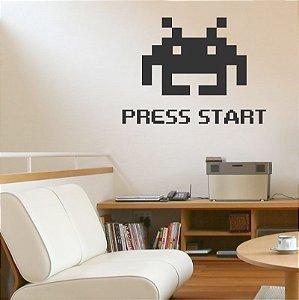 Adesivo Press Start