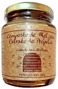 Compostos de Mel com Extrato de Própolis  300gr
