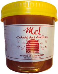Mel Flores de Laranjeira 1kg