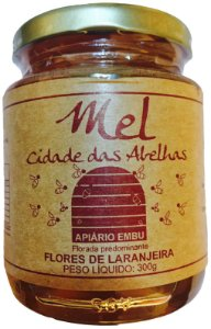Mel Flores de Laranjeira 300gr