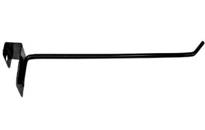 50 Ganchos para Barra 20x30 de 1 haste - Preto - 25 cm - Diâmetro:4,76mm - Outras medidas e cores pelo whats : (11) 97143-1706