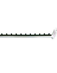 10 Rt's Retos Tubular para Painel Canaletado - Com pinos em Plástico Resistente para Formar Divisórias - Brancos - 40cm