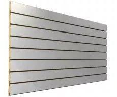1 Painel Canaletado Branco 0,61M A x 2,75M L (5 frisos, com 10cm de distância) MDF 18mm