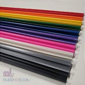 Canaleta de PVC 2,75 M - Caixa com 150 Peças - 10 Cores para escolher -  Clique na foto para ver detalhes , escolha a cor