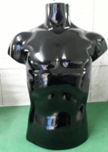 Busto Masculino Adulto - PINTADO ( Tinta Automotiva)  - LINHA LUXO  – Polietileno de Alta Qualidade  (Altura: 95 cm )- Tempo de Produção 10 dias