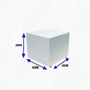 Expositor de Chão Compacto com Pés - Expor Manequins, Bolsas, Decorações e outros - MDF Branco 15mm - Pronta Entrega - Outras medidas sob encomenda - Whats: (11) 97143-1706