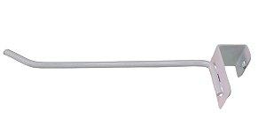 50 Ganchos para Barra 20x30 de 1 haste - Branco - 25 cm - Diâmetro:4,76mm - Outras medidas e cores pelo whats : (11) 97143-1706