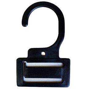 50 Cabides Para Gravata  -  5,5 cm Largura X 9 cm Altura X 3mm Espessura ( 2 rasgos de 4 cm de Largura x 5mm de Altura) - PRONTA ENTREGA