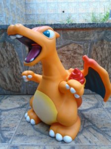 Charizard Gigante - 30 cm - Pokemon - Nintendo Creatures Gamefreak  1997