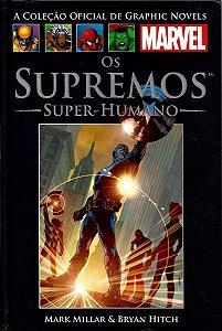 Os Supremos - Super Humanos - Salvat - Capa Dura
