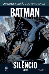 Eaglemoss DC Batman Silêncio  Parte 1 Capa Dura