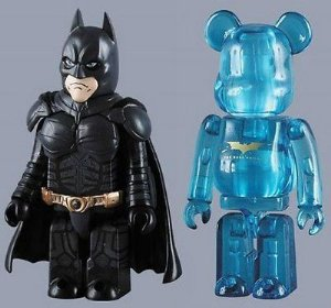Medicom Toy DC Batman The Dark Knight Kubrick + Bearbrick
