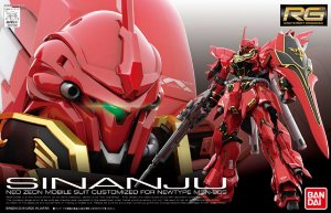 Sinanju MSN -06S- Gundam - RG - Escala 1/144 - Model Kit - Bandai