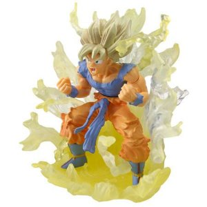 Bandai Dragon Ball Z Goku SSJ Concentrando Ki Gashapon