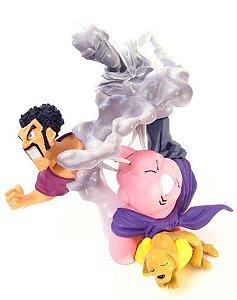 Majin Buu Mister Satan Chachorro e Evil Boo - Dragon Ball Z - Super Imagination Figure - Gashapon - BANDAI