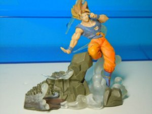 Bandai Dragon Ball Z Goku SSJ Imagination Figure Gashapon