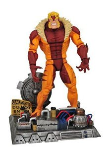 Sabretooh (Dentes de Sabre) - Marvel Select - Hasbro