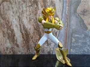 Hyoga de Cisne - Armadura Dourada - Cavaleiros do Zodíaco - Gashapon - BANDAI