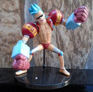Bandai One Piece Half Age Franky