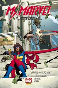 Ms Marvel Questoes Mil – Panini – Capa Dura