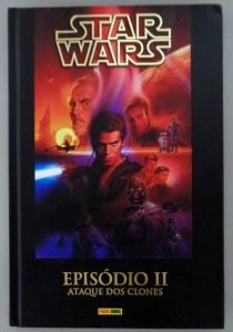 Star Wars - Episódio II – O Ataque dos Clones - Panini - Capa Dura