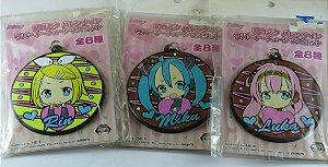 Sega Chaveiros Vocaloid Hatsune Miku , Rin e Luka Conjunto