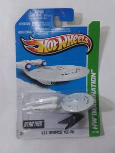USS Enterprise – Star Trek – Hot Wheels