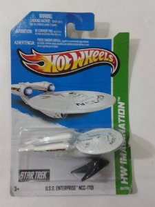 USS Enterprise Damage – Star Trek – Hot Wheels