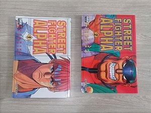 Street Fighter Alpha – 2 Edições – Mangá – Newpop