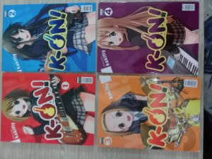 K-on! + Colégio + Faculdade - 6 edições – Mangá – Newpop