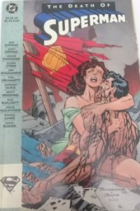 The Death Of  Superman - A Morte do Super Homem - Importado - DC Comics
