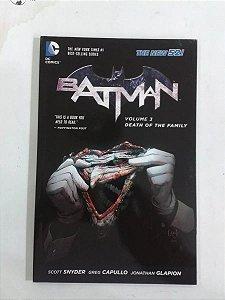 Batman Death Of The Family - Encadernado Importado - Capa Cartonada - DC Comics