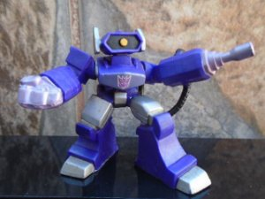 Hasbro Transformers G1 Robot Heroes Shockwave Loose