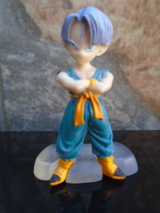 Bandai Dragon Ball Z Trunks Criança Gashapon