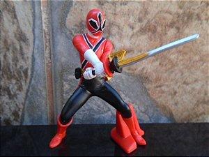 Shinken Red - Samurai Sentai Shinkenger - Trading Art - BANDAI